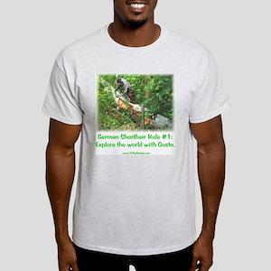 GSP Rule #1 Ash Grey T-Shirt