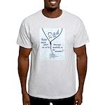 Dad knows best! Ash Grey T-Shirt