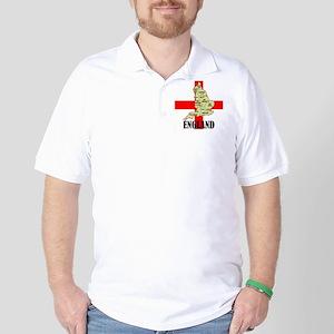 England Map Golf Shirt