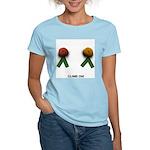 """CLIMB ON!"" Women's Light-Colored TShirt"