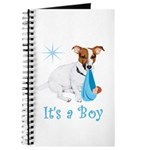 Jack Russell, It's A Boy Gifts Journal