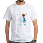 Jack Russell, It's A Boy Gifts White T-Shirt