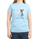 Jack Russell, It's A Boy Gifts Women's Light T-Shi