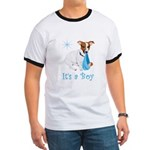 Jack Russell, It's A Boy Gifts Ringer T