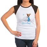 Jack Russell, It's A Boy Gifts Women's Cap Sleeve