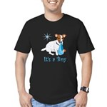 Jack Russell, It's A Boy Gifts Men's Fitted T-Shir