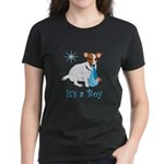Jack Russell, It's A Boy Gifts Women's Dark T-Shir