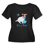 Jack Russell, It's A Boy Gifts Women's Plus Size S