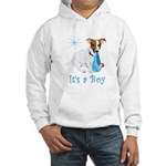Jack Russell, It's A Boy Gifts Hooded Sweatshirt