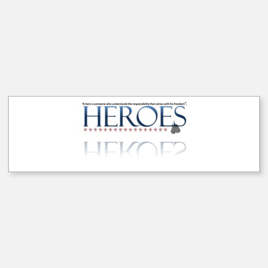 hero/stars Sticker (Bumper)