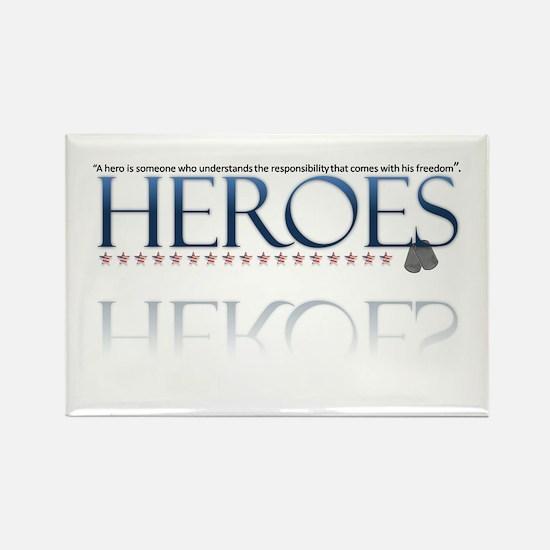 hero/stars Rectangle Magnet