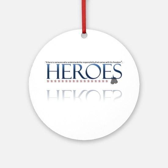 hero/stars Ornament (Round)