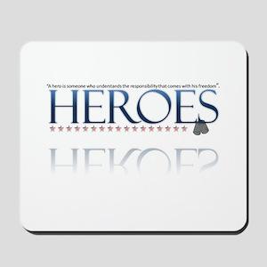 hero/stars Mousepad