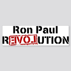 Ron Paul Revolution Large Banner Bumper Sticker