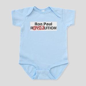 Ron Paul Revolution Large Banner Body Suit