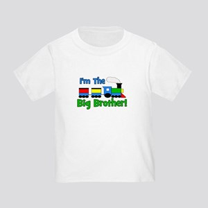 Big Brother TRAIN Toddler T-Shirt