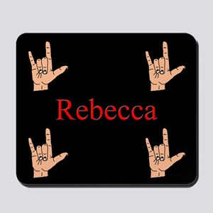 Rebeca Mousepad ASL