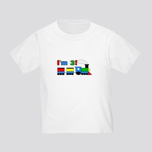 I'm 3! Train Toddler T-Shirt