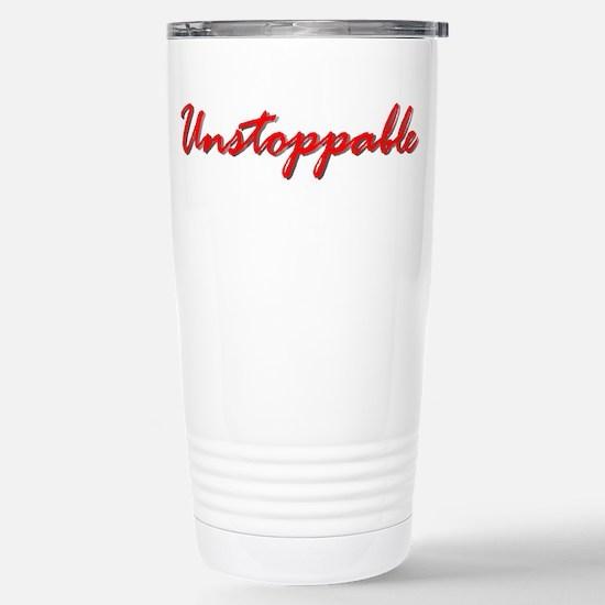Unstoppable Stainless Steel Travel Mug