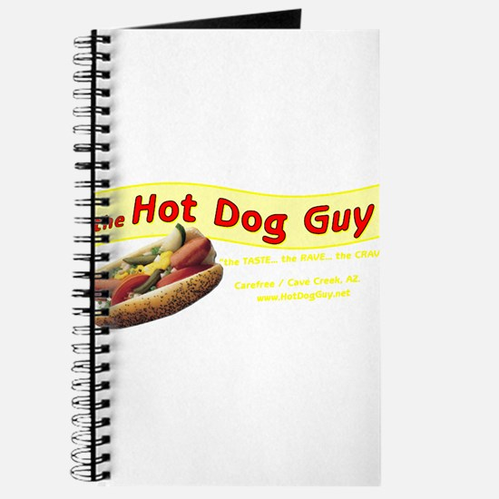 Cute Hot dog Journal