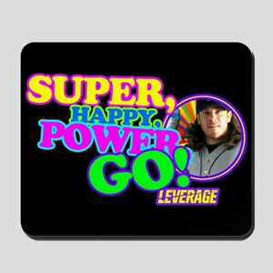 Super Happy Power Go Mousepad