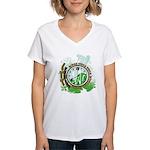 Post Time Women's V-Neck T-Shirt