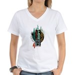 Jorts Pack Women's V-Neck T-Shirt
