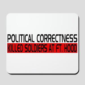 Political Correctness Kills Mousepad