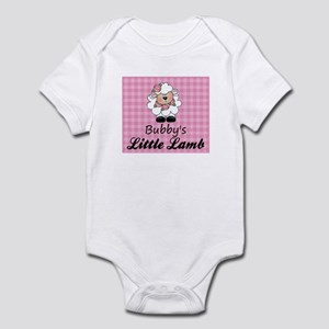 Bubby's Little Lamb (Girl) Infant Bodysuit