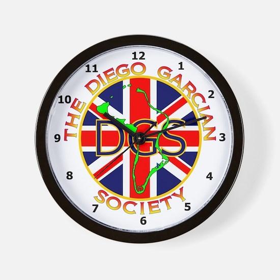 Diego Garcian Society Wall Clock