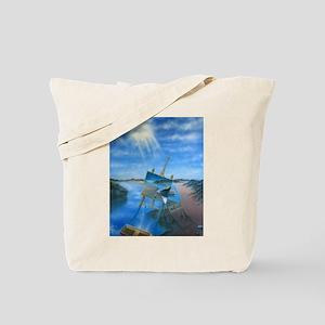 Daylight Disintegration Tote Bag