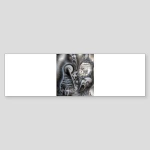 Il Morte A Macchina Sticker (Bumper)