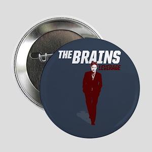 """Leverage Brains 2.25"""" Button"""
