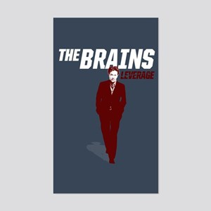 Leverage Brains Sticker (Rectangle)
