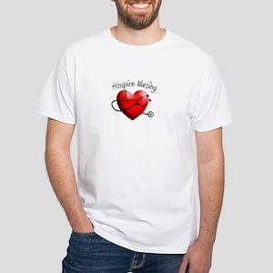 Hospice II White T-Shirt