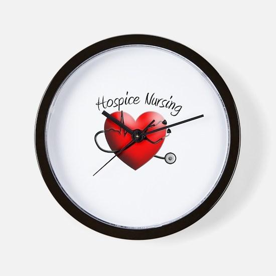 Hospice II Wall Clock