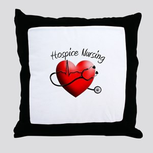 Hospice II Throw Pillow