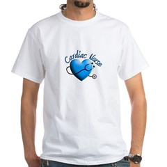 cardiac nurse White T-Shirt