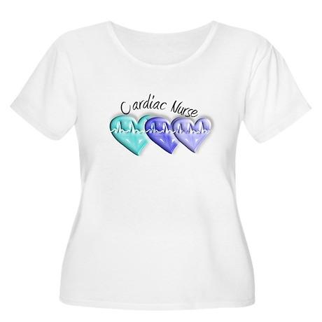 cardiac nurse Women's Plus Size Scoop Neck T-Shirt