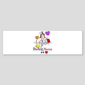 Student Nurse X Sticker (Bumper)