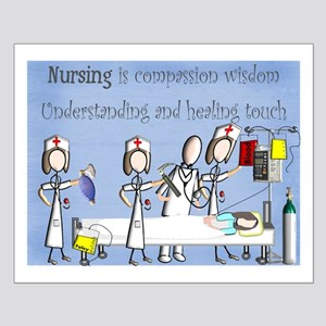 Student Nurse X Small Poster