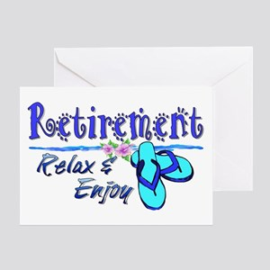 Relax & Enjoy Greeting Card