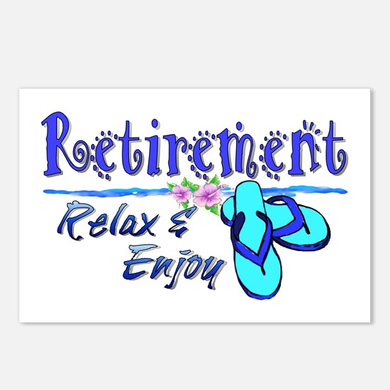Relax & Enjoy Postcards (Package of 8)
