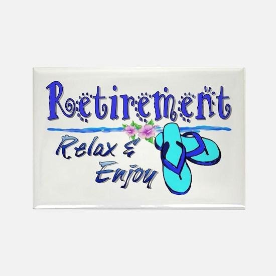 Relax & Enjoy Rectangle Magnet