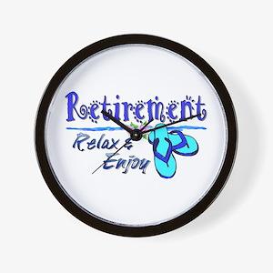 Relax & Enjoy Wall Clock