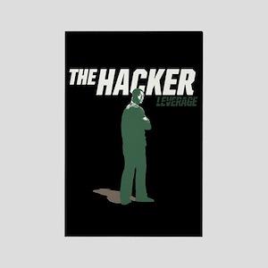 Leverage Hacker Rectangle Magnet