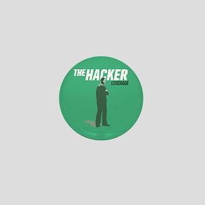 Leverage Hacker Mini Button