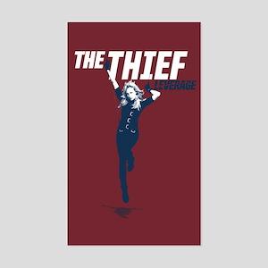 Leverage Thief Sticker (Rectangle)