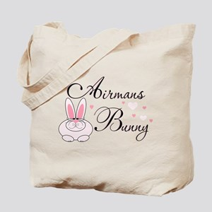 Airmans Bunny Tote Bag