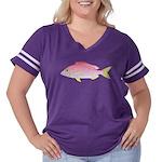 Common Pandora Women's Plus Size Football T-Shirt